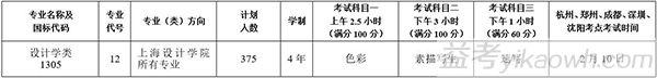 中国美术学院2017年本科招生简章